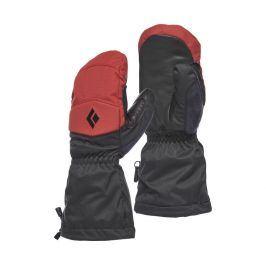 Rukavice Black Diamond Recon Mitts Velikost rukavic: L / Barva: červená