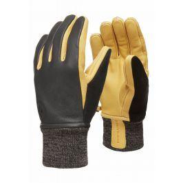 Rukavice Black Diamond Dirt bag gloves Velikost rukavic: M / Barva: černá