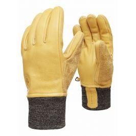 Rukavice Black Diamond Dirt bag gloves Velikost rukavic: L / Barva: hnědá