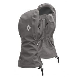 Rukavice Black Diamond Waterproof overmitts Velikost rukavic: XL / Barva: šedá