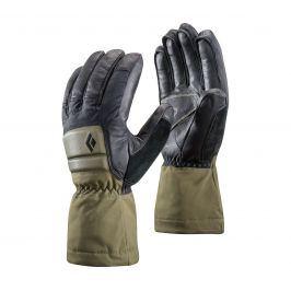 Rukavice Black Diamond Spark Powder Gloves Velikost rukavic: M / Barva: zelená