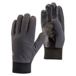 Rukavice Black Diamond Midweight Softshell Velikost rukavic: S / Barva: šedá
