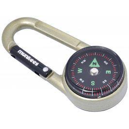 Munkees karabina s kompasem a teploměrem Barva: béžová