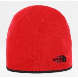 Čepice The North Face Reversible TNF Banner Beanie Barva: červená/černá