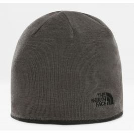 Čepice The North Face Reversible TNF Banner Beanie Barva: šedá/černá