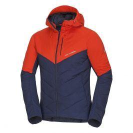 Pánská bunda Northfinder Bonker Velikost: XL / Barva: modrá/oranžová