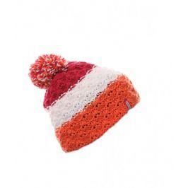Dětská zimní čepice Nordblanc Stamina Barva: bílá/oranžová