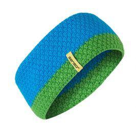 Čelenka Sensor pletená Obvod hlavy: univerzální cm / Barva: modrá