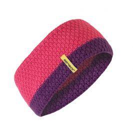 Čelenka Sensor pletená Obvod hlavy: univerzální cm / Barva: růžová