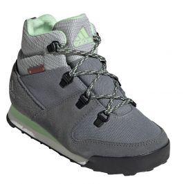 Dětské boty Adidas Snowpitch C.RDY Dětské velikosti bot: 33 / Barva: šedá