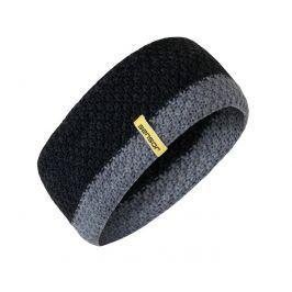 Čelenka Sensor pletená Obvod hlavy: univerzální cm / Barva: černá