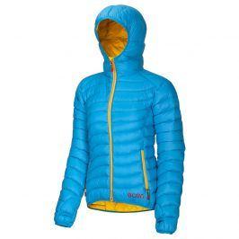 Dámská bunda Ocun Tsunami women + čepice zdarma Velikost: S / Barva: modrá/žlutá