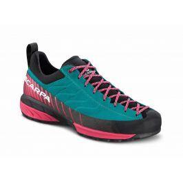 Dámské boty Scarpa Mescalito WMN Velikost bot (EU): 40,5 / Barva: modrá/růžová