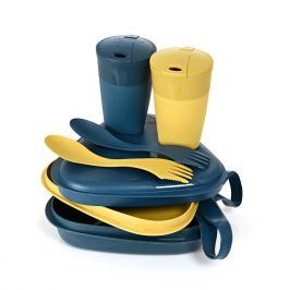 Sada nádobí Light My Fire Pack'n EatKit BIO Barva: modrá/žlutá