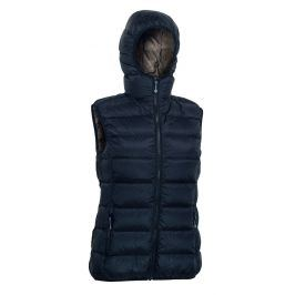 Dámská vesta Warmpeace Yuba Lady Velikost: XL / Barva: černá