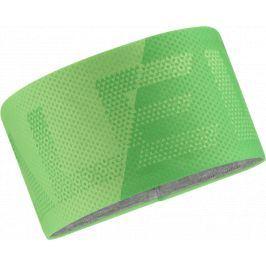 Čelenka Salewa Pedroc Seamless Headband Barva: zelená