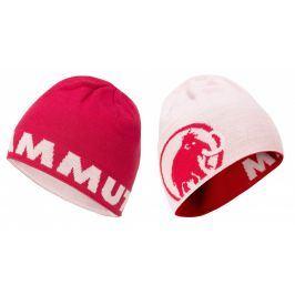 Čepice Mammut Logo Beanie Barva: světle růžová