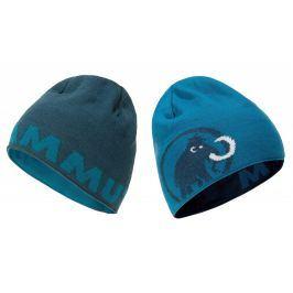 Čepice Mammut Logo Beanie Barva: modrá