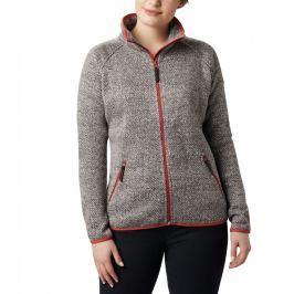 Dámská mikina Columbia Chillin Fleece Non Hoode Velikost: M / Barva: šedá