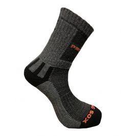 Ponožky Progress P HKS Hiking sox Velikost ponožek: 43-47 (9-12) / Barva: šedá
