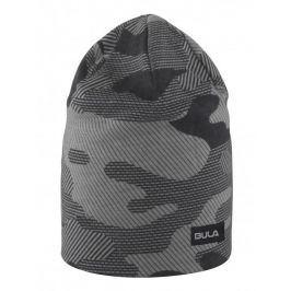 Čepice Bula Camo Printed Wool Beanie Barva: tmavě šedá