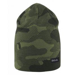 Čepice Bula Camo Printed Wool Beanie Barva: tmavě zelená