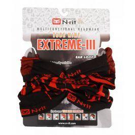 Nákrčník N-Rit Extreme III Obvod hlavy: univerzální cm / Barva: černá/červená