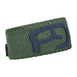 Čelenka Ortovox Headband Rock 'N' Wool M Obvod hlavy: 57-65 cm / Barva: černá