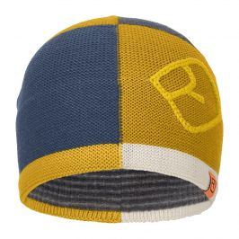 Čepice Ortovox Patchwork Beanie Obvod hlavy: 57-65 cm / Barva: žlutá