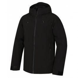 Pánská hardshellová bunda Husky Narbi M Velikost: XXL / Barva: černá