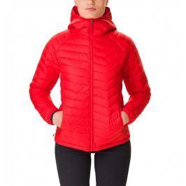 Dámská bunda Columbia Powder Lite Hooded Jacket Velikost: S / Barva: červená