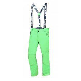 Pánské lyžařské kalhoty Husky Galti M Velikost: XL / Barva: zelená