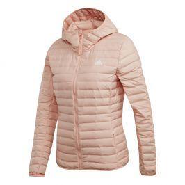 Dámská bunda Adidas Varilite Soft Hooded Velikost: L / Barva: růžová