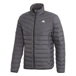 Pánská bunda Adidas Varililte 3-Stripes Soft Down Velikost: L / Barva: černá
