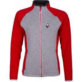 Dámský svetr High Point Skywool 4.0 Lady Sweater Velikost: M / Barva: červená/šedá