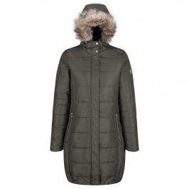 Dámský zimní kabát Regatta Fermina II Velikost: XL / Barva: tmavě zelená