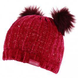 Dětská zimní čepice Regatta Hedy Lux Hat II Dětská velikost: 7-10 let / Barva: červená