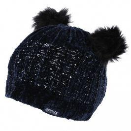 Dětská zimní čepice Regatta Hedy Lux Hat II Dětská velikost: 7-10 let / Barva: černá