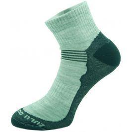 Ponožky Zulu Merino Men lite Velikost ponožek: 43-47 / Barva: šedá