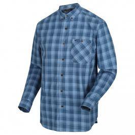 Pánská košile Regatta Lazare Velikost: XXL / Barva: modrá