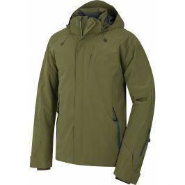 Pánská zimní bunda Husky Gopa M Velikost: M / Barva: zelená