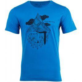Pánské triko Alpine Pro Wider Velikost: S / Barva: modrá