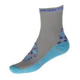 Dětské ponožky Progress Kids Summer Sox 26PS Velikost ponožek: 35-38 / Barva: šedá/modrá