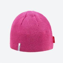 Pletená merino čepice Kama AW62 Barva: růžová