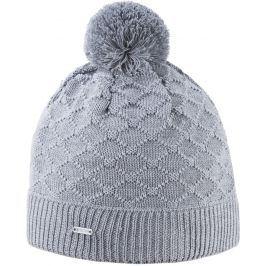 Pletená Merino čepice Kama A124 Barva: šedá