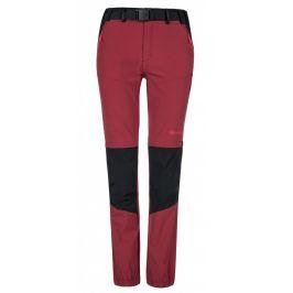 Dámské kalhoty Kilpi Hosio W (2019) Velikost: S / Barva: červená