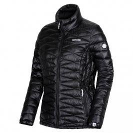 Dámská bunda Regatta Wmns Metallia Velikost: XXXL (20) / Barva: černá