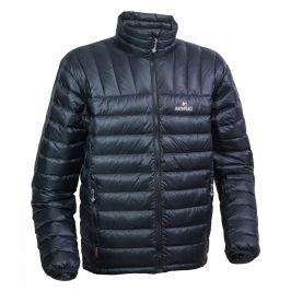 Pánská péřová bunda Warmpeace Drago Velikost: XXL / Barva: černá