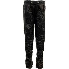 Dětské kalhoty Alpine Pro Slavio Dětská velikost: 140-146 / Barva: černá