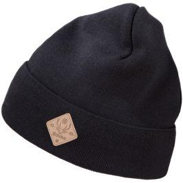 Pletená Merino čepice Kama Kamakadze K50 Barva: černá